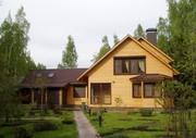 Недорогие дома из клееного бруса