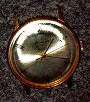 Наручные ретро-Часы Ракета и Полет