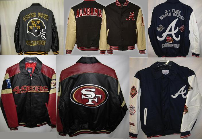 Куртки клубные NFL большого размера от