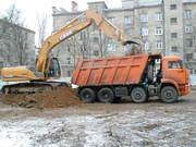 Вывоз мусора, грунта, снега.