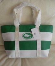 Оригинальные настоящие сумки Lacoste со склада-терминала в Тунисе.