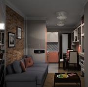 Дизайн квартир,  домов,  торговых помещений,  кафе и ресторанов.