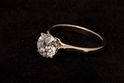 Кольцо с бриллиантом в 1.67 карат со скидкой 50%