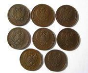 Продаются подборки медных монет.Кладовое состояние.Без реставраций