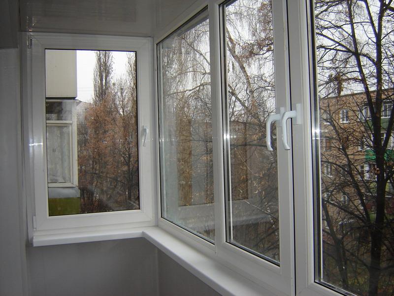 Французские окна на балкон фото