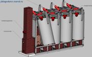 Уникальное оборудование для производства древесного угля