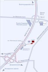 Склад ответственного хранения Котельники,  Московская область