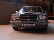 коллекционная авто модель мерседес бенц 560 SEL