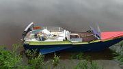 лодка одноместная водометная