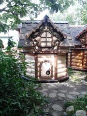 Колодцы Можайск Верея. Колодезные домики.
