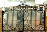 Кованные изделия:ворота,  перила,  заборы,  решётки