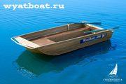 Моторно-гребная лодка «Wyatboat-390»