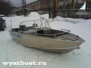 Катер Wyatboat-490DCM (алюминиевый)
