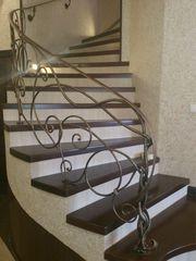 Лестницы деревянные ,  с различными видами ограждений ( дуб,  бук,  ясень