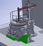 Дуговые сталелитейные печи постоянного и переменного тока 0, 5-60т