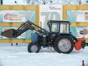 Фронтальный погрузчик МКДУ-82М для тракторов МТЗ