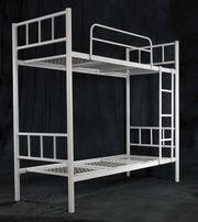 Кровати для гостиниц,  кровати двухъярусные металлические, кровати оптом
