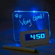 Часы Светящийся LED-будильник «ДОСКА ДЛЯ ЗАПИСЕЙ»