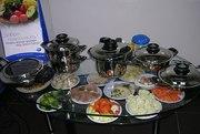 Плита Навигенио с посудой АМС -кухня нового поколения