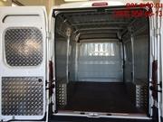 Обшивка фургона алюминием