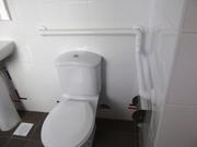 Поручни инвалидные в санузлы и туалеты,  сантехнические опоры стальные
