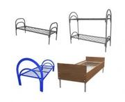 Железные кровати для рабочих,  вагончиков,  бытовок,  студентов,  дешево