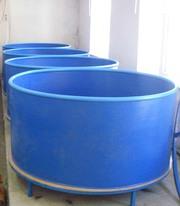 Бассейны круглые для рыборазведения объем 2, 4 м3 (полипропилен)