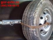 Крепление запасного колеса в фургон