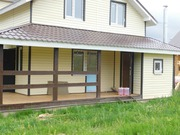 готовые дома из бруса под ключ недорого