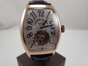 Часы Франк Мюллер (Franck Muller) Оригинал. Imperial Tourbillon 8880T 18K Pink Gold,  тубилион