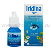Капли для глаз Иридина Дуе (Италия)