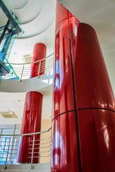 Обшивка отдельностоящей колонны