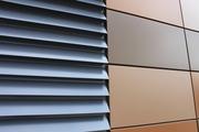 ламели алюминиевые фасадные