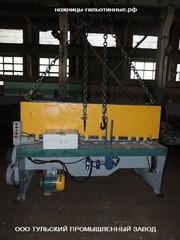 Ножницы гильотинные нк3418 капитальный ремонт,  продаём после ремонта.