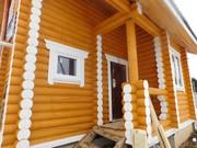 Дом из бревна с маг. Газом в деревни Спас-Прогнанье Жуковского района