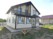 Новый дом 160 м кв  с террасой  в пригороде г. Боровска 85  км от МКАД