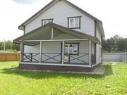 Новый дом в Орехово,  170 м кв ,  Калужское шоссе,  65  км от МКАД,  10 со