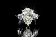 Кольцо с бриллиантами 4, 6 карат