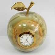 Настольные часы из натурального природного камня в магазине БВУ