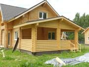 продам дом из оцилиндрованного бревна