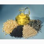 На экспорт подсолнечное,  пальмовое,  рапсовое,   кукурузное.