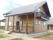 Загородный дом с газом 12 соток   в Калужской области недорого от собс