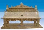 мраморные столы и скамьи и скамейки