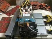 Биткоин асик майнер AntMiner S7 4.73 th/s