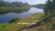 Участок 9 соток для ЛПХ,  в деревне по Новорижскому шоссе,  до реки Волга 400 м,  газ,  экология
