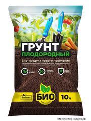 Органические удобрения: биогрунты,  суспензия хлореллы,  сапропель