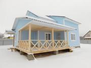 Белоусово. Новый дом эконом-класса увеличенной площади,  в деревне Верх
