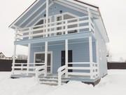Дом в  лесу по Калужскому шоссе в 80 км от МКАД 145 м кв  на 10 сотках