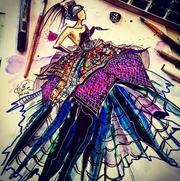Курс Fashion Sketching Фэшн Скетчинг в Москве