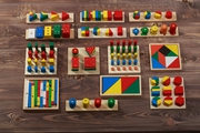 Детский развивающий набор Монтессори 14в1